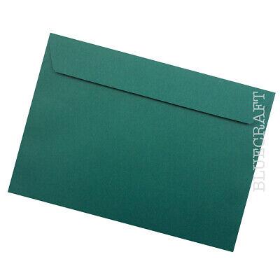 """162 x 229 mm 6.37 X 9.01/"""" Lot de 10 x C5 bleu caraïbe de luxe 120gsm Enveloppes"""