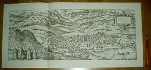 Brixen-Bressanone-Suedtirol-alte-Ansicht-Merian-Druck-Stich-1650-sw-Staedteansicht