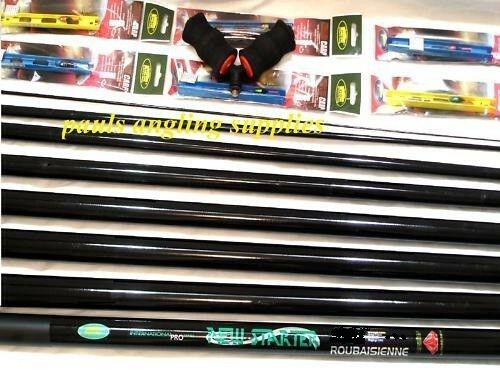 8m Starter Fishing Pole 14 Elastic Fitted Roller & Rigs