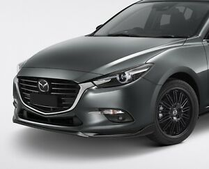 mazda 3 kuro style front lip for 2016 bn mazda 3 hatch. Black Bedroom Furniture Sets. Home Design Ideas