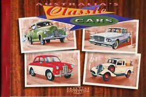 Australia-booklet-1997-SG1667-1670-Classic-Cars-prestige-book-MNH
