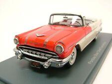 Pontiac Star Chief Cabrio 1956 rot/weiß, Modellauto 1:43 / Neo Scale Models