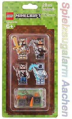 Realistisch Lego ® 853610 Minecraft™ Hüllen Set 2 Mit 4 Tollen Minifiguren Skin Pack 2 GroßE Sorten Modellbausätze Sonstige