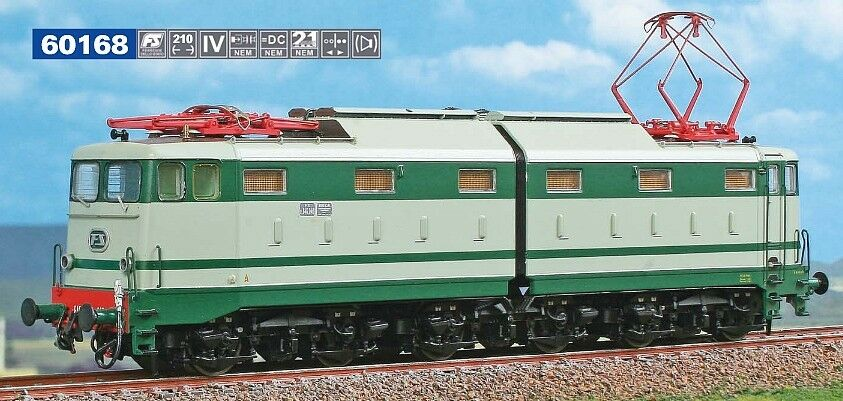 ACME 60168 - FS E 646 040 in livrea grigio verde