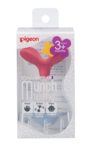 Pigeon Baby Munch Beißring Beissring Spielzeug von 3 Monat Pfirsich Japan Klee