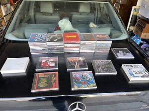 Heavy Metal/ Rock CDS  Lot 58 CDs Kiss Iran Maiden Metallica The Beatles ETC.