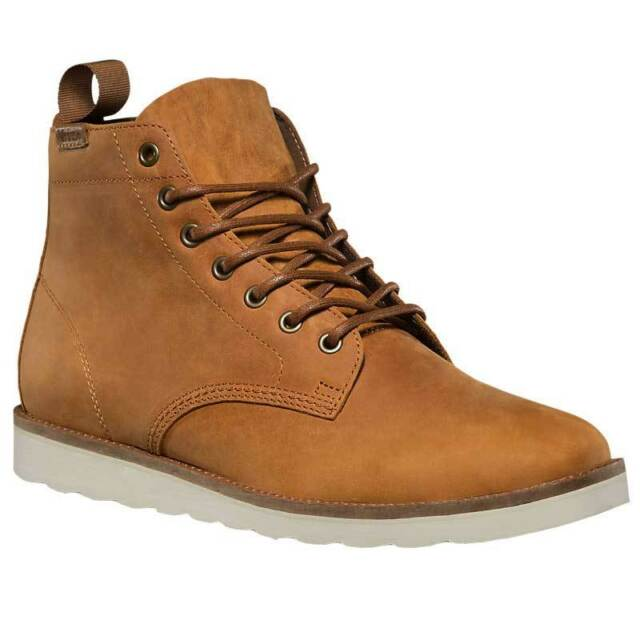 19e93e60003 Vans Sahara Boot Light Brown Leather Men's Boot Size 7.5