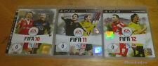 PS3 FIFA 10 + 11 + 12 Fußball Spiele für Playstation