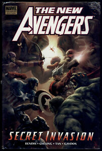 New-Avengers-Vol-9-Secret-Invasion-Book-2-Hardcover-Graphic-Novel-Sealed-Marvel
