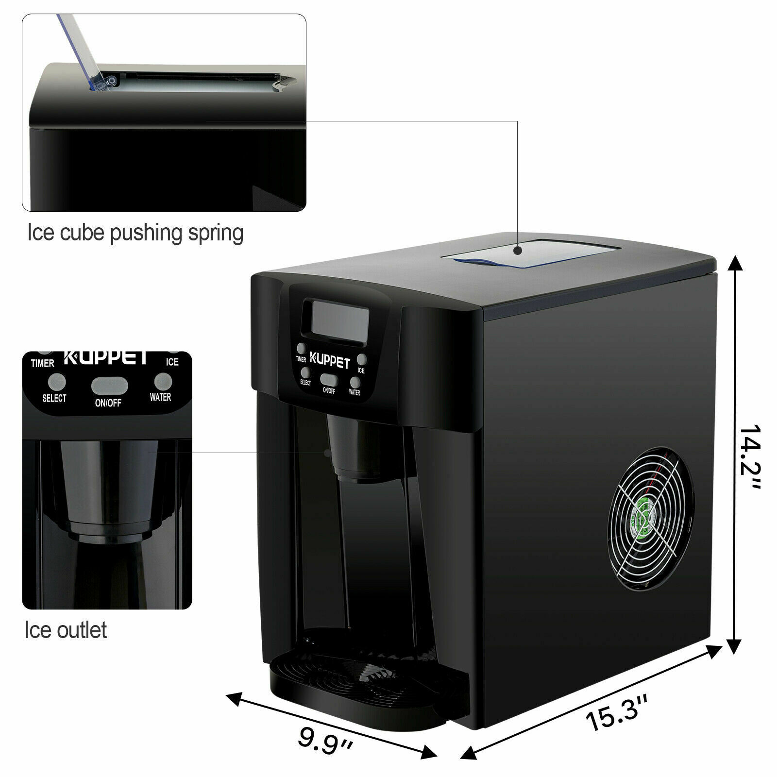 countertop ice machine