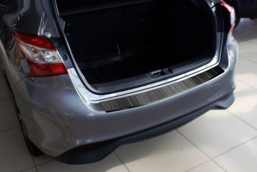 Seuil noir acier pour bmw x3 e83 LCI SUV 2006-2010