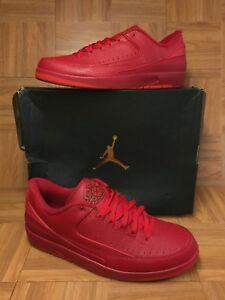 94388caac68 RARE🔥 Nike Air Jordan 2 II Retro Low Gym Red University Red Sz 14 ...