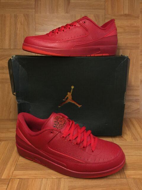3afd618d09808e RARE🔥 Nike Air Jordan 2 II Retro Low Gym Red University Red Sz 14 832819