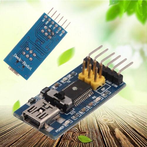 FT232RL 3.3V 5.5V FTDI USB To Serial Kabel USB to TTL USB To 232 for Arduino AHS