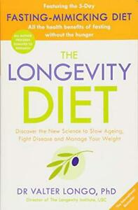 The-Longevity-Diet-by-Longo-Dr-Valter-NEW-Book-FREE-amp-Paperba