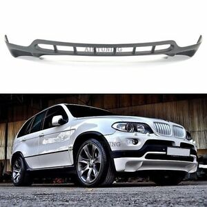 Bmw E53 X5 48is Style Front Bumper Spoiler Addon Tuning Valance