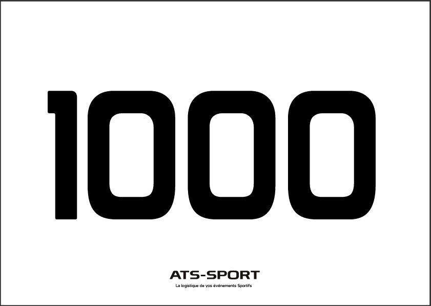 Dossard de course à pied, Trail, Triathlon, Cyclosport, VTT (par lot de 250)