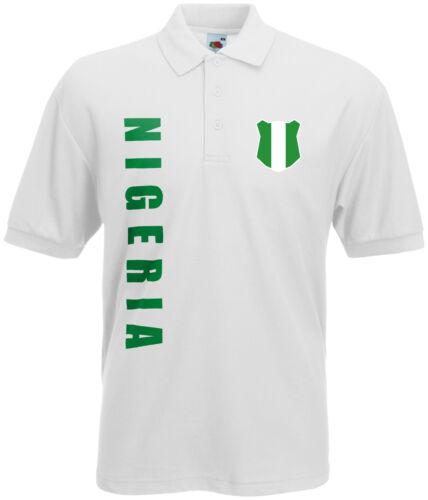 WM 2018 Nigeria Polo-Shirt Trikot Name Nummer