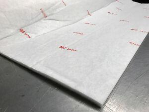 M5 F5 Spray Booth Ceiling Intake Filter Media Roll Cut
