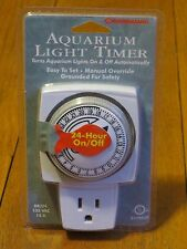 Marineland Aquarium Timer Fish Tank Terrium Programable Controller Power Plug-in