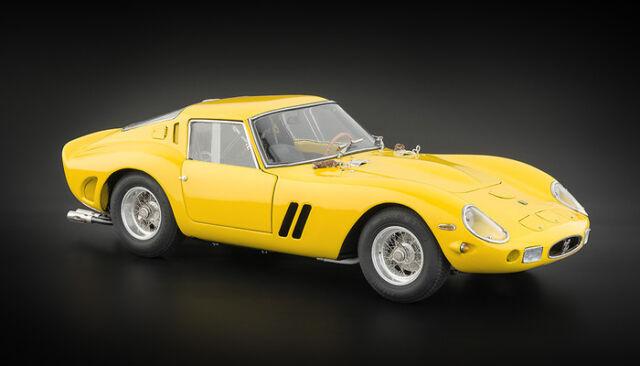 1962 Ferrari 250 Gto in Giallo da Cmc in 1:18 Scala Cmc 153
