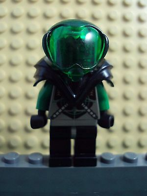 Lego Minifig ~ Danny Longlegs ~ Green Insectoid Robot UFO Space Alien #cft7