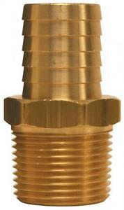 DIXON-BN53-5-8-inch-Hose-Barb-X-3-8-034-M-NPT-Male-Insert-Brass-Hose-Fitting