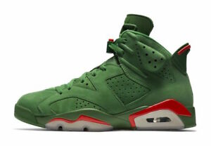 2017 Nike Air Jordan 6 VI Retro Gatorade Green Suede Size 8.5 ... 44cd9bbfd