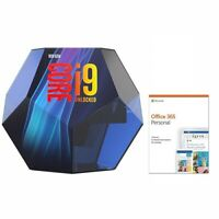 Intel Core i9-9900K Up To 5.0 GHz 8-Core Desktop Processor + MS Office 365 Personal 1 Yr
