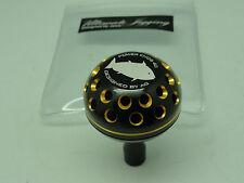 PRK45AG knob for Shimano Stella Twinpower Daiwa Saltiga Tanacom Bull reel BLK/GD
