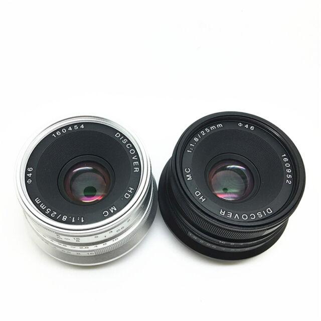 25mm f/1.8 Lens for M4/3 MFT Micro 4/3 Panasonic GF8 GF7 GH4 Olympus EP5