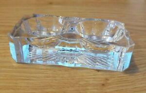 Klein Salzstreuer aus Glas -form Muschel Heiliger Jacques