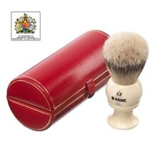Kent Large, Pure Silver-Tipped Badger Shaving Brush, Cream ,Perfect Gift For Him