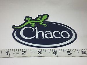 "Chaco Sticker Decal Black Orange Purple Green Approx 5/"""