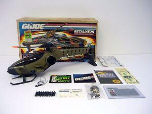 Gi Joe Retaliator Vintage Action Figure Vehicle Complete W Box
