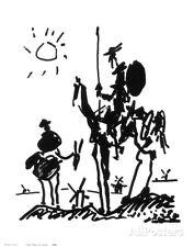 Don Quixote, c.1955 Art Print By Pablo Picasso - 11x14