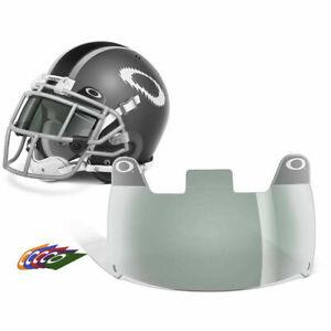 c6622456f5cd Oakley 42-004 Adult 20 Dark Grey Football Visor Eye Shield for sale ...