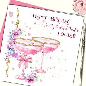 Image Is Loading Personalised Birthday Card Female Mother Daughter Sister Friend