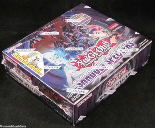 Konami Yu-Gi-Oh Shadow Specters 1st Edition Booster Factory Sealed Box, 24 packs