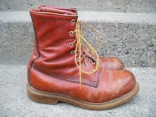 Vtg Red Wing Irish Setter Men's Work Hunting Leather Riding Biker Boots Size 10