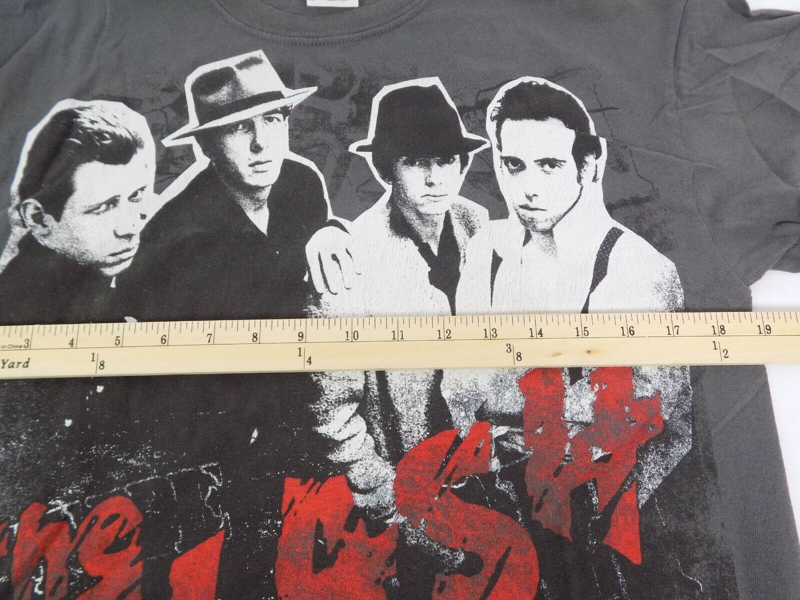 The Clash North American Campaign 1982 T Shirt Me… - image 8