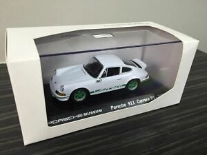 Museo Porsche.Genuine Porsche Museum 911 Carrera Rs 1 43 Model Ebay