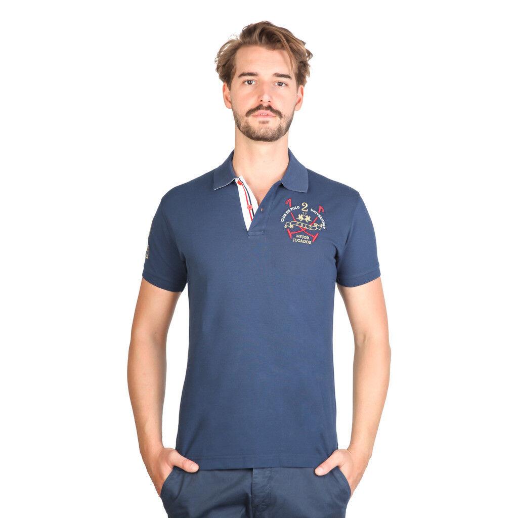 LA MARTINA Polo herren Numero 2 Team Cotone Slim Fit Blau Navy LISTINO