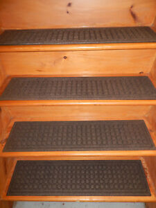 1 = Step 8.1/2\'\' x 35\'\' 100% Rubber Outdoor/ Indoor Stair Treads Non ...