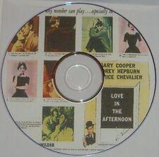COM DRAMA 32: LOVE IN THE AFTERNOON 1957 B Wilder Cooper, A. Hepburn, Chevalier