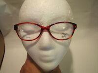 Saks Fifth Avenue Eyeglasses Saks 280 Reds 51-16-130 Flex Hinges