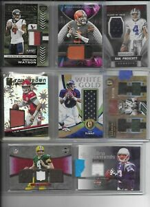 NFL-Football-Cards-Hot-Packs-3-Hits-Per-Pack-8-Total-Cards-Autos-Patches-Je