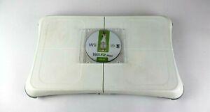 Nintendo-Wii-Fit-Plus-Balance-Board-Bundle-White-CD-Board-Tested-Working