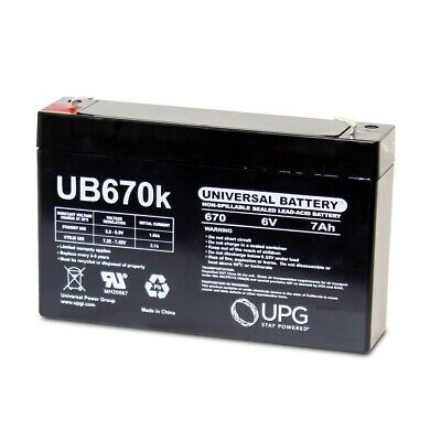 Mighty Max Battery 6V 7Ah SLA Replacement Battery for Pacific Cycle 363D9C9F KidTrax Brand Product