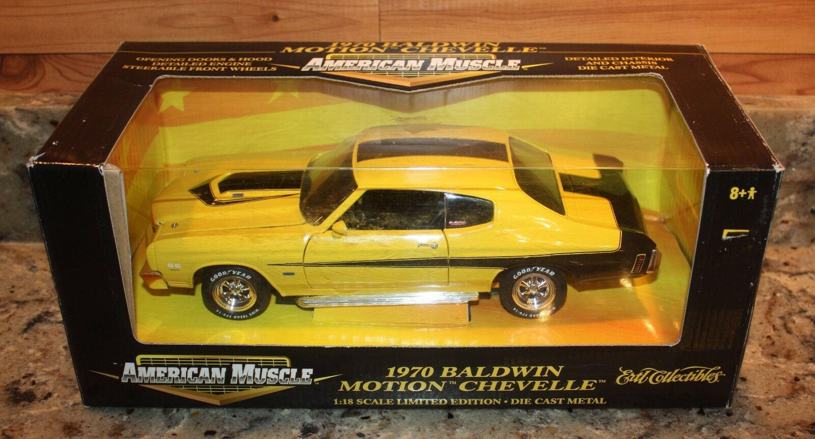 ordenar ahora Ertl 1970 1970 1970 Baldwin Motion American Muscle Chevelle SS 454 escala 1 18 DIE-CAST  compra en línea hoy